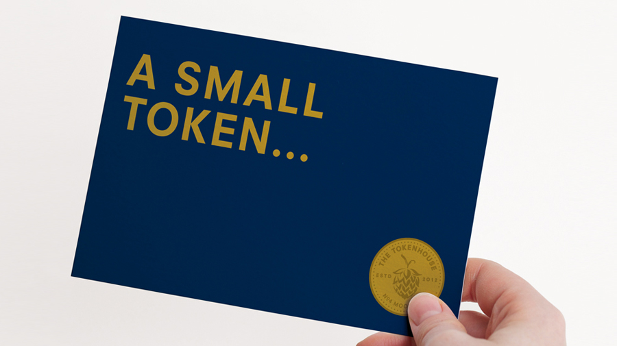 Print work created by Designers Anonymous for The Tokenhouse