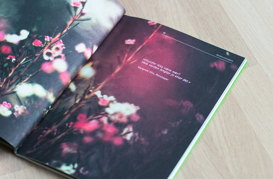 Brand book designed by Mission for local bank alliance Eika