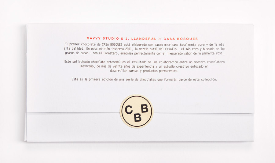 Print designed by Savvy for Casa Bosques' new line of seasonal chocolates