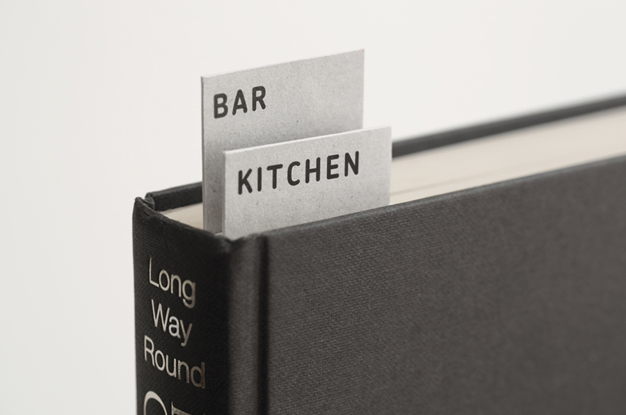 Print by Designers Anonymous for London kitchen and bar Fika