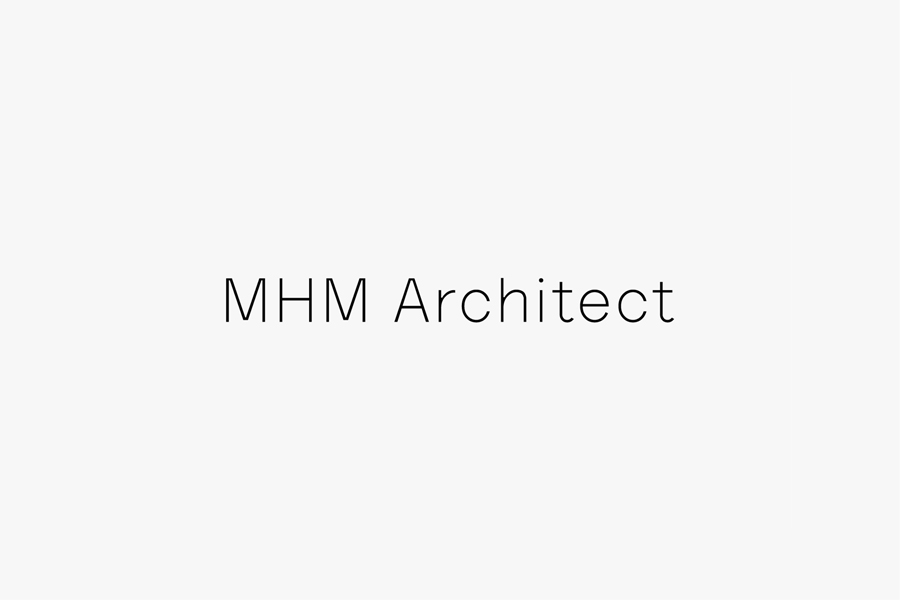 Logotype for MHM Architects by 26 Lettres
