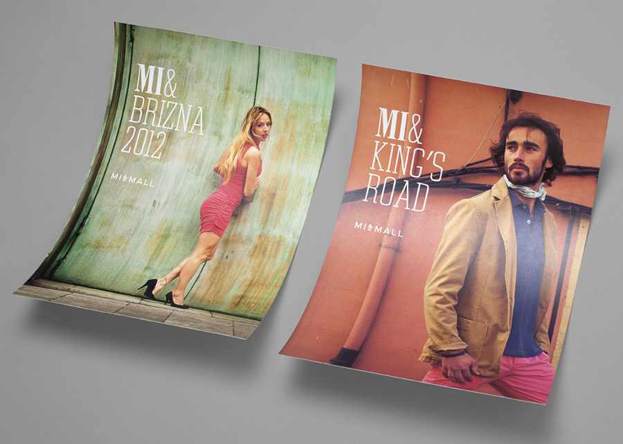 Print designed by Atipo for online fashion retailer Mi&Mall
