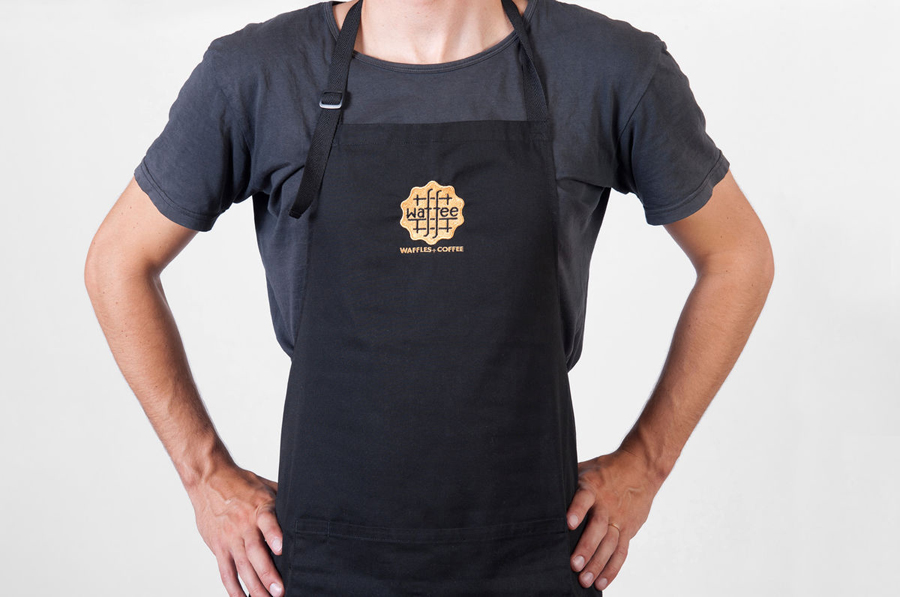 Uniform designed by A Friend Of Mine for Belgian waffle and coffee chain Waffee