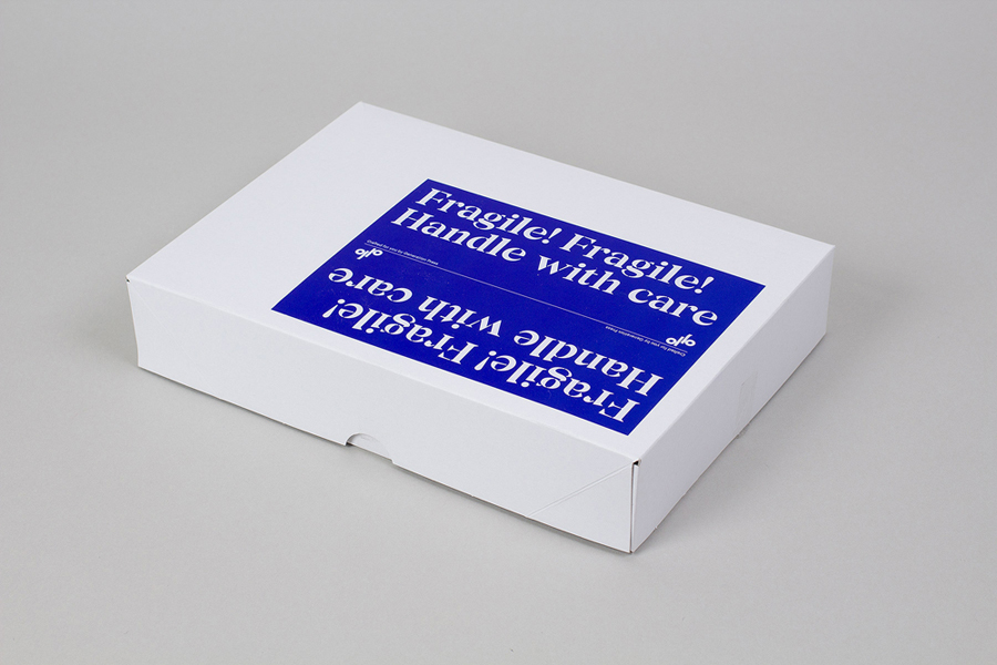 Print with a bright blue spot colour for print production company Generation Press designed by Build