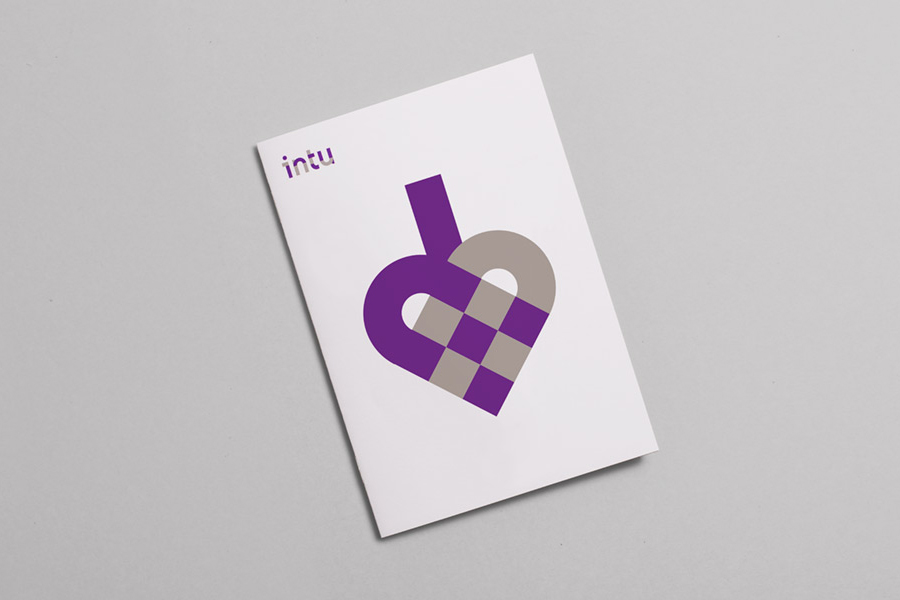 Logotype, print and iconography by Heydays for Norwegian accounting and consultant firm Intu