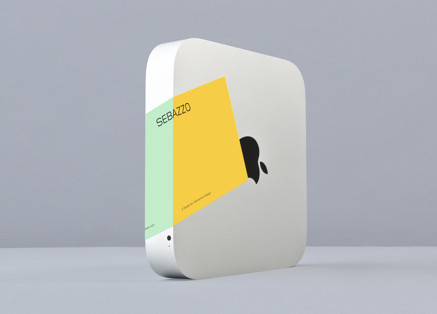 Sticker with edge to edge colour detail designed by Bunch for digital design studio Sebazzo