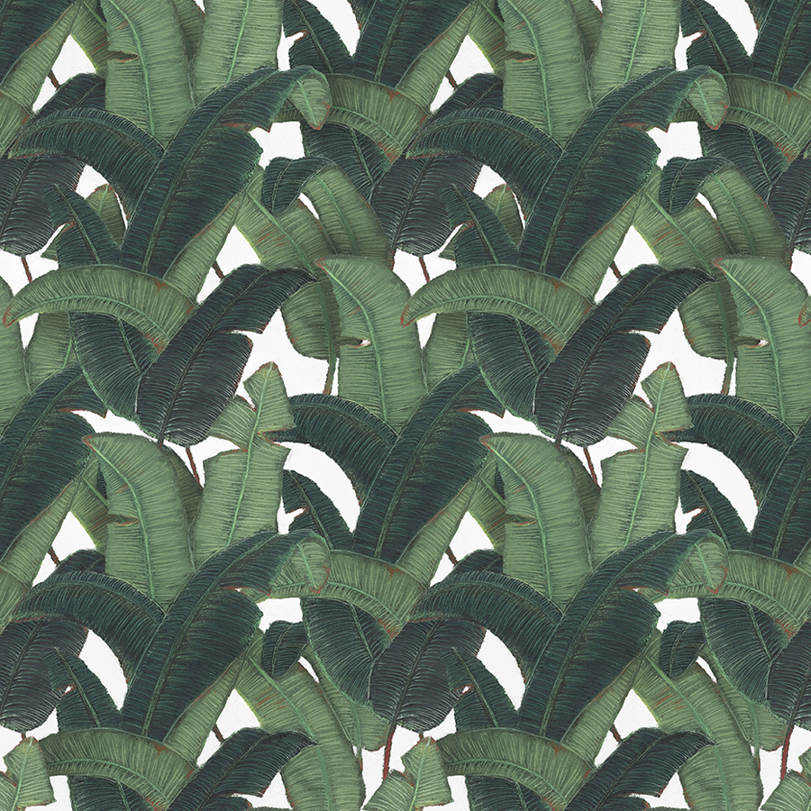 Wallpaper designed by Post Projects for Vancover-based Chinese restaurant Bambudda