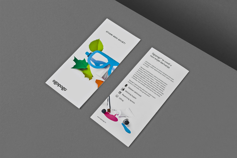 Print for Croatian boxed experience Ogopogo designed by Bunch