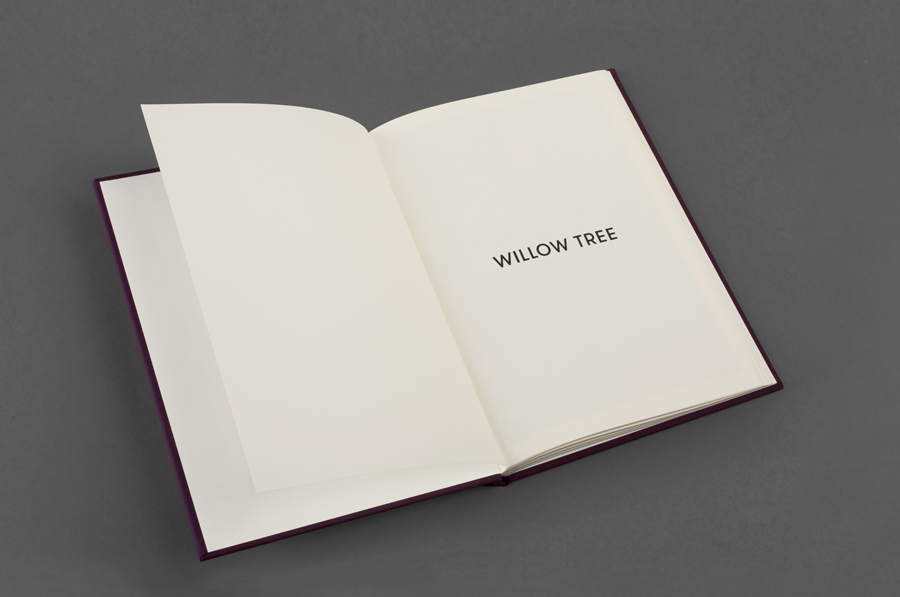 Logotype and notepad designed by Bunch for business consultancy Willow Tree