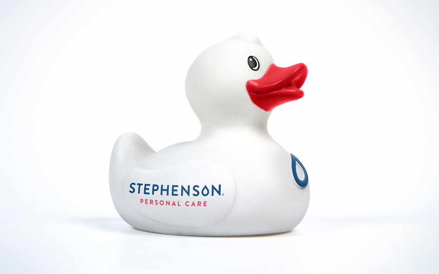 Logo designed by Robot Food for UK soap base specialist Stephenson Personal Care