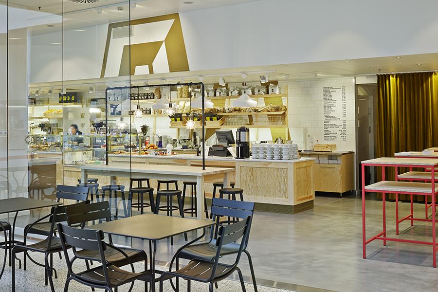 Interior for Helsinki-based Fazer Cafe designed by Kokoro & Moi and Koko 3