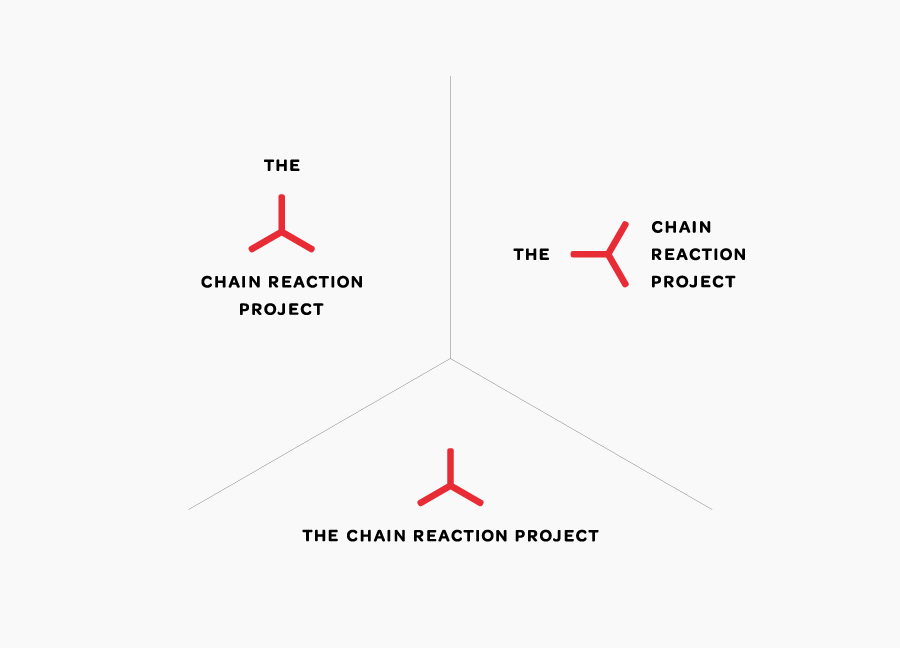 Logo for The Chain Reaction Project designed by Bravo Company