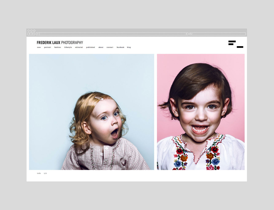 Website designed by LSDK for Frederik Laux Photography