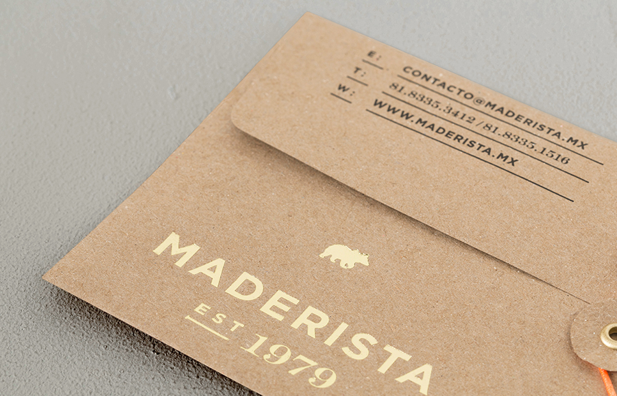 Maderista - Logo and branding by Anagrama