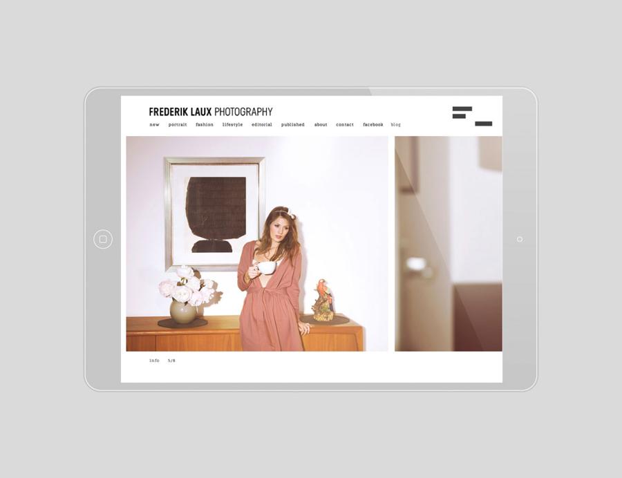 Website designed by LSDK for Frederik Laux Photography