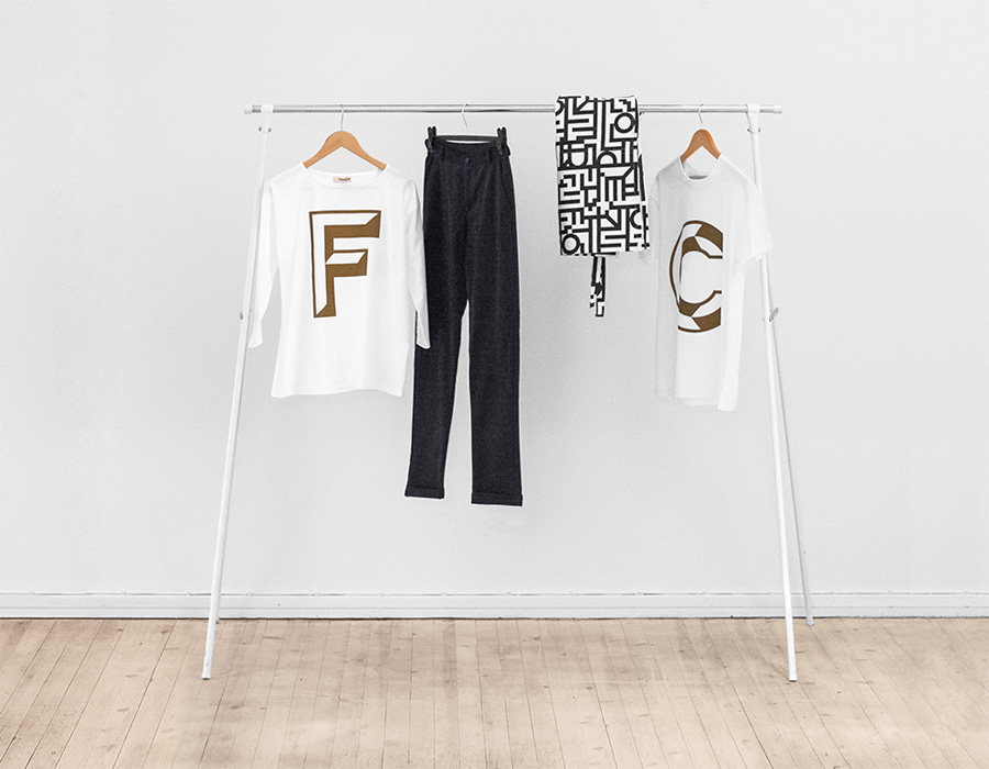 Clothing line for Helsinki-based Fazer Cafe designed by Kokoro & Moi