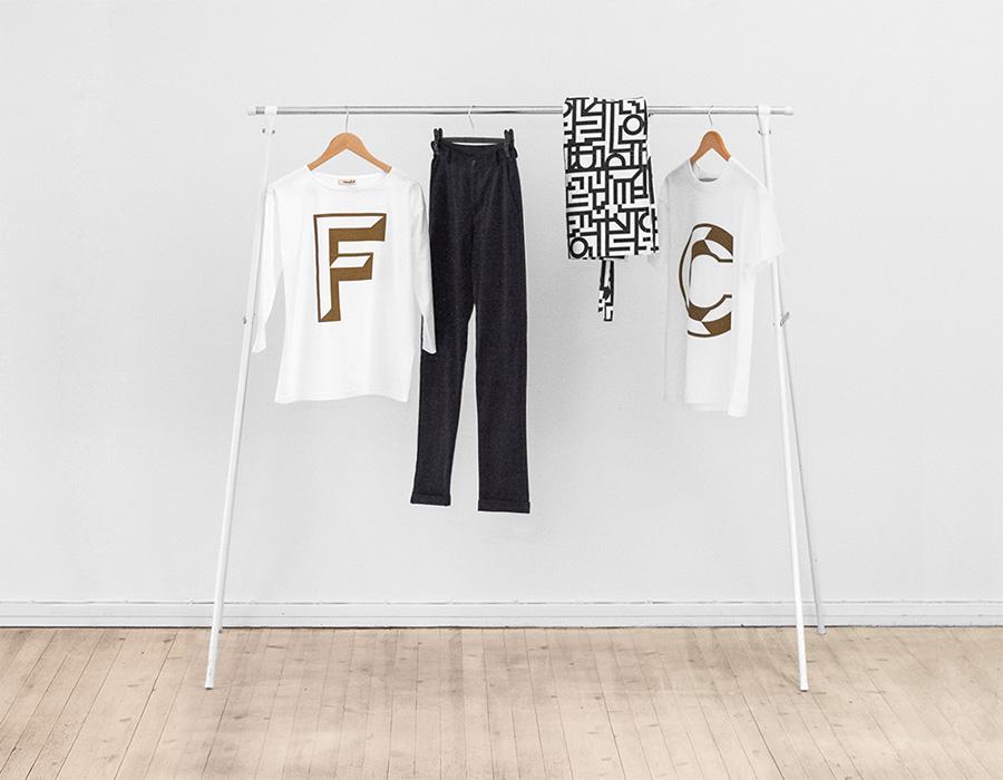 Clothing line for Helsinki-based Fazer Cafe designed by Kokoro & Moi