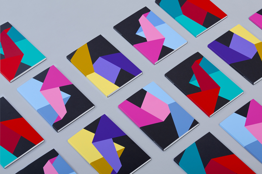 Print portfolio designed by Bunch for structural engineering firm Nosive Strukture