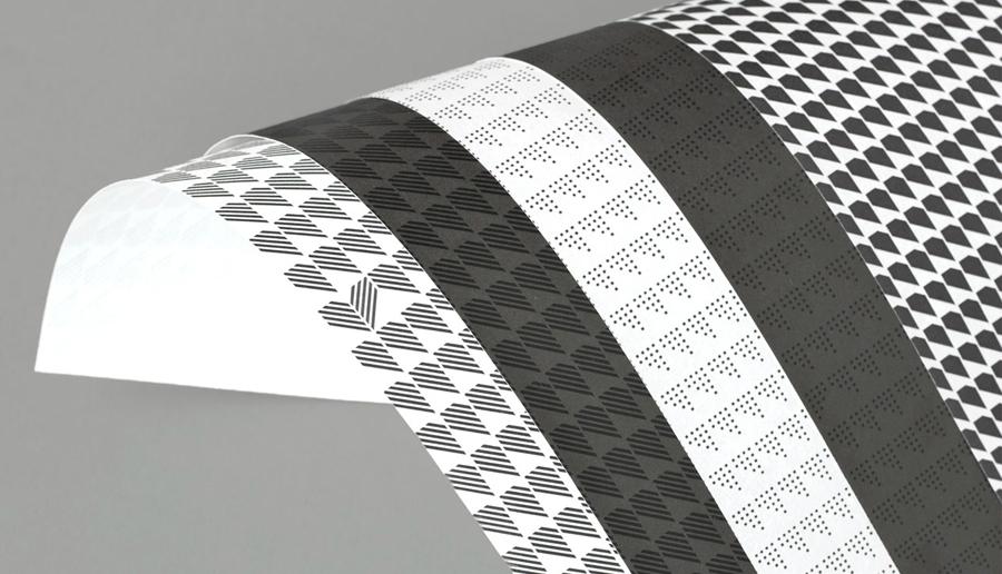 Headed paper back designed by Atipo for Spanish production studio Minke