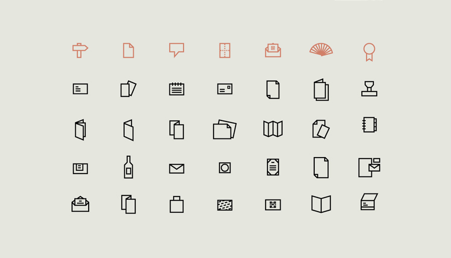 Iconography by Atipo for Spanish production studio Minke