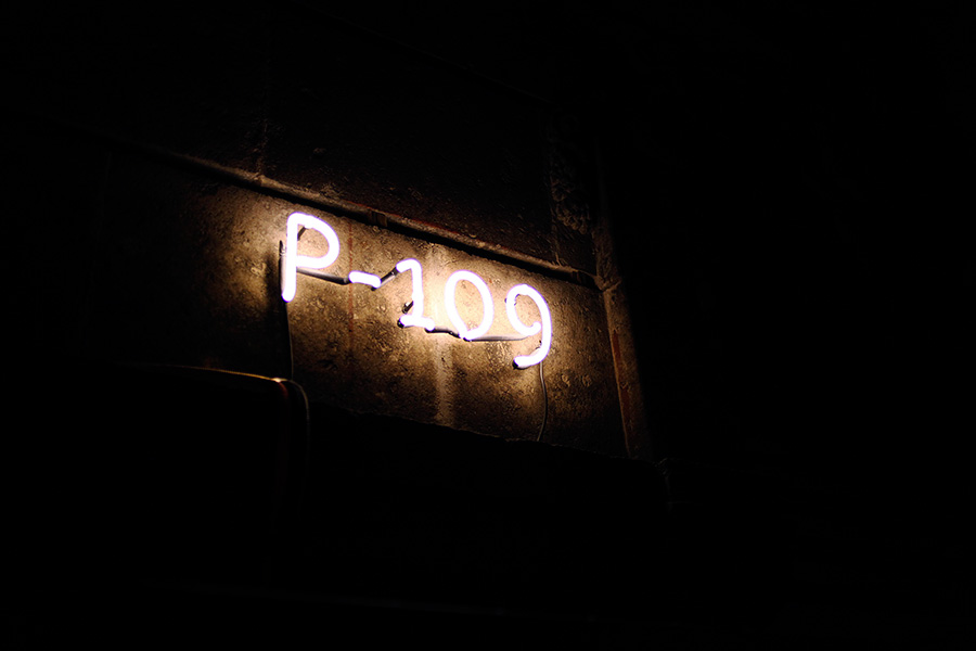 Neon signage created by Savvy for art, design and gastronomy experience Puebla 109