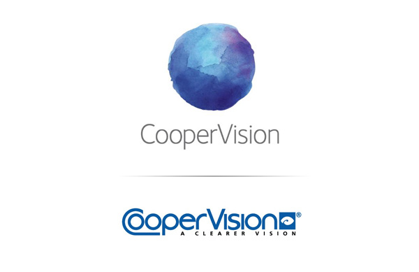 Logo and watercolour illustrative work for US contact lens manufacturer Coopervision
