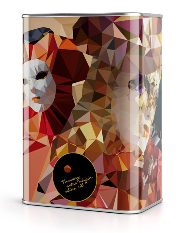 New Packaging designed by NTGJ for Think Global Taste Local's limited edition olive oils