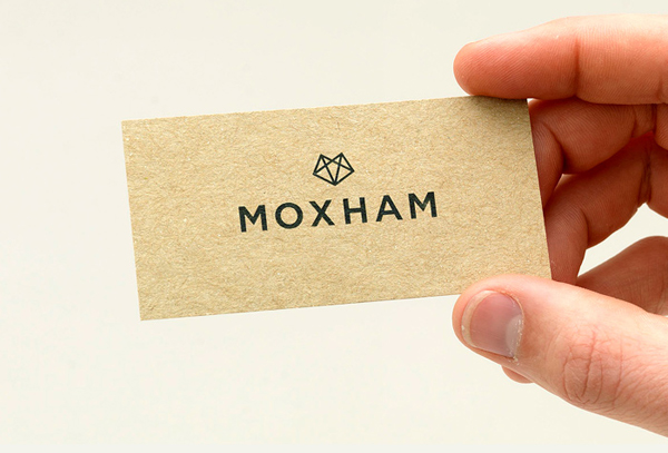 Moxham - Logo, print and stationery design by The Consult