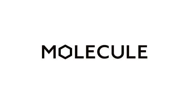 Logo for architecture and interior design studio Molecule created by Studio Round