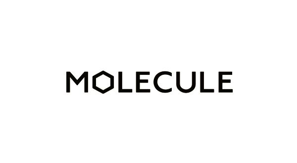 Logo for architecture and interior design studio Molecule created by Studio Round