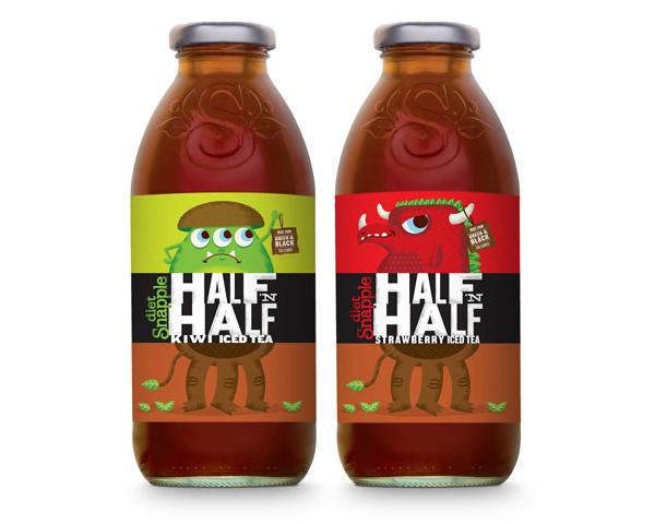 Half N Half - Packaging designed by Hillebrandcory