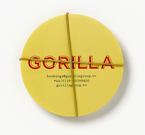 Gorilla - Logo and branding designed by Smörgåsborg