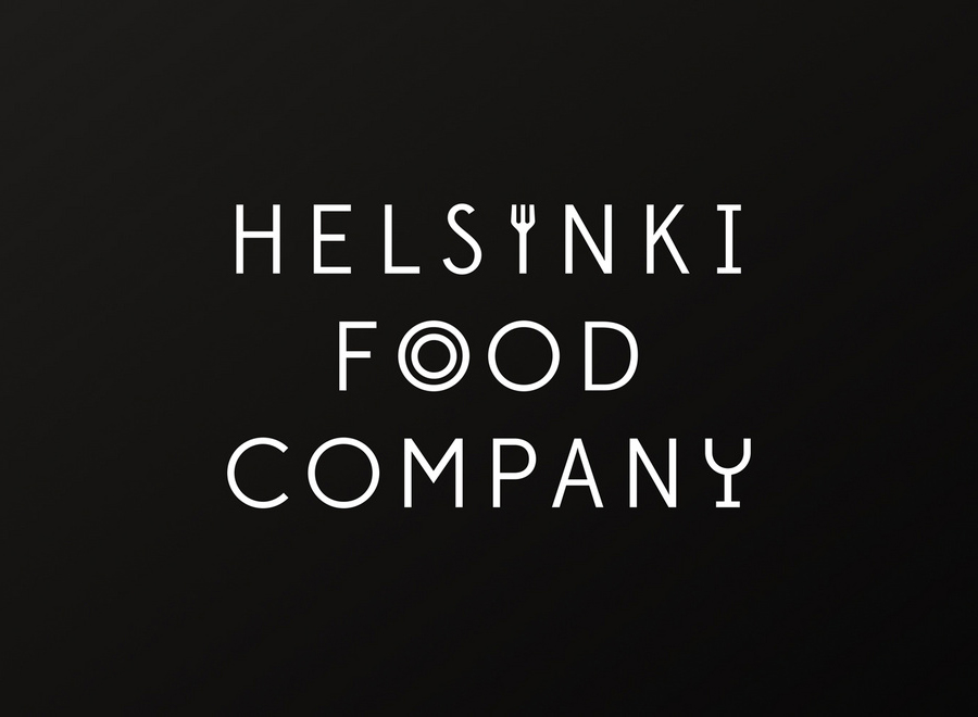 Logo for Helsinki Food Company designed by Werklig