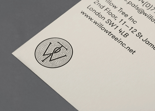 Willow Tree - Logo and stationery designed by Bunch