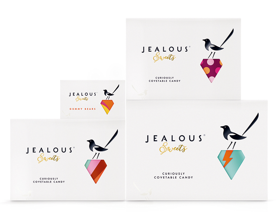Jealous Sweets - Packaging and branding by B&B Studio