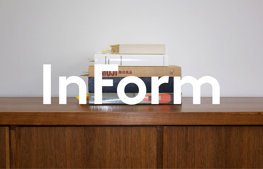 InForm logo and print designed by Hofstede