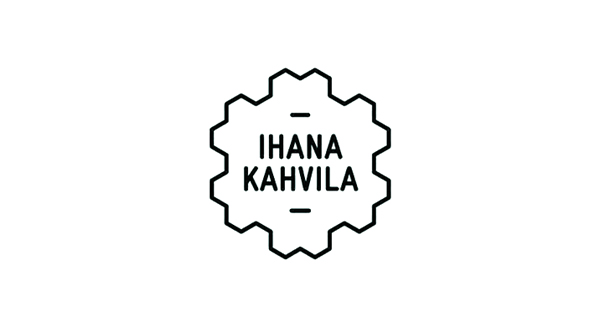 Logo design by Werklig for freight container coffee shop Ihana Kahvila