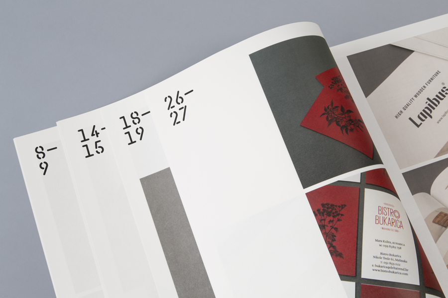Print for print production studio Cerovski designed by Bunch