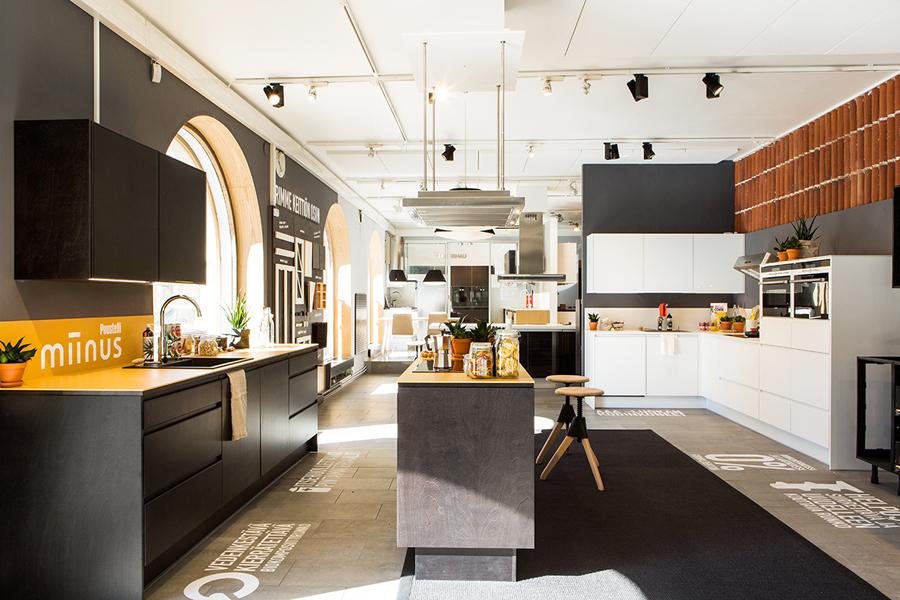 Puustilli's new reductionist kitchen Miinus