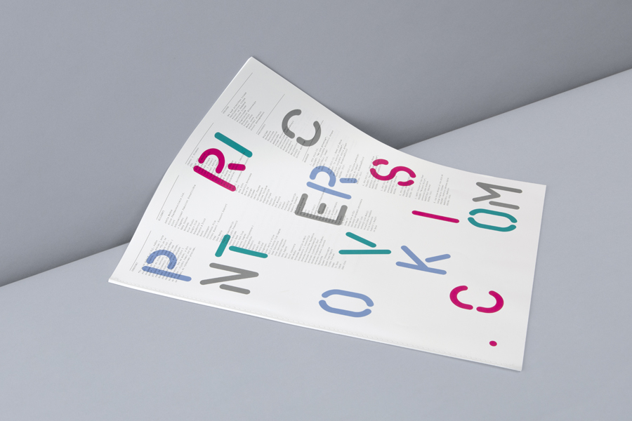 Print for print production studio Cerovski designed by Bunch
