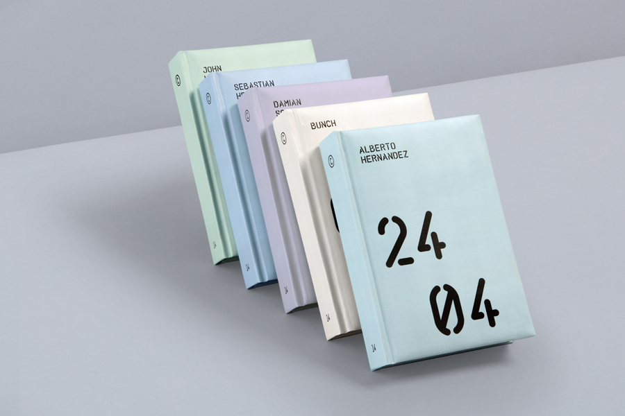 Personalised planner for print production studio Cerovski designed by Bunch