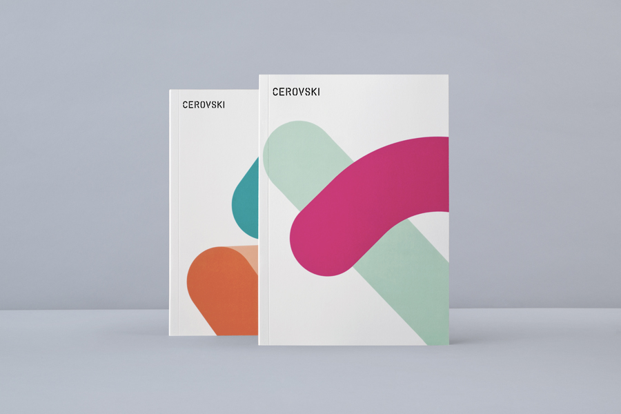 Brand guidelines designed by Bunch for print production studio Cerovski