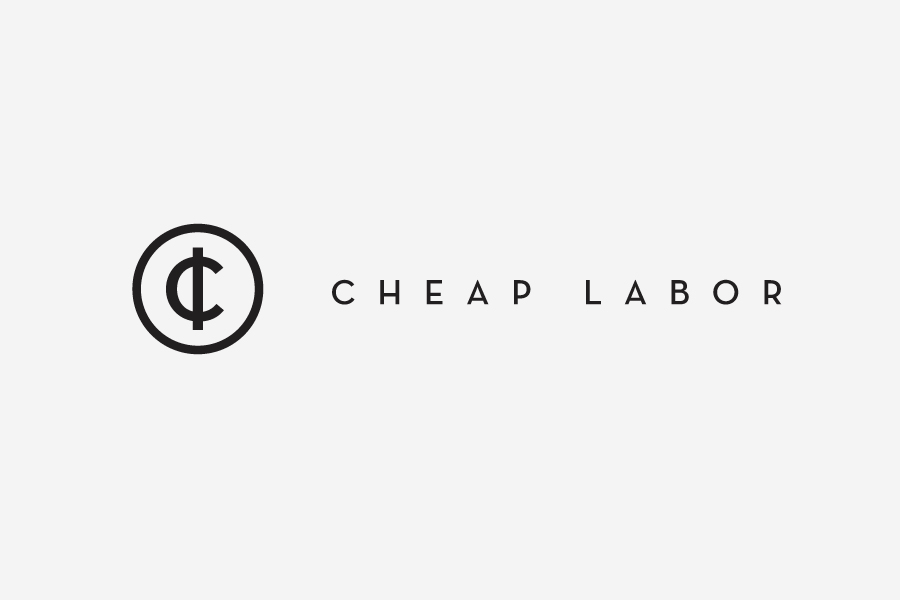 Logo designed by Sciencewerk for craft retail and trading site Cheap Labor