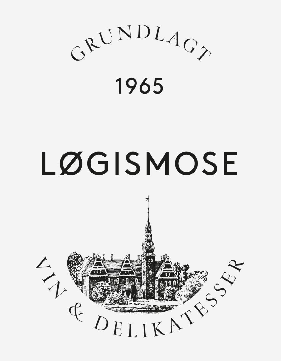 Logo designed by Homework for Løgismose