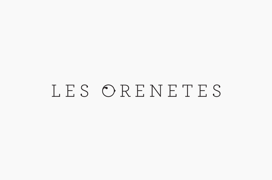 Logo designed by Mucho for Spanish fashion boutique Les Orenetes