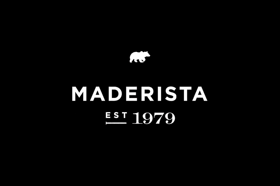 Logo designed by Anagrama for San Pedro-based carpentry studio Maderista