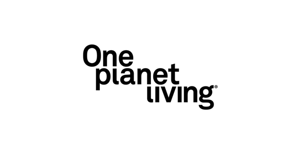 Logo design for One Planet Living designed by Demian Conrad