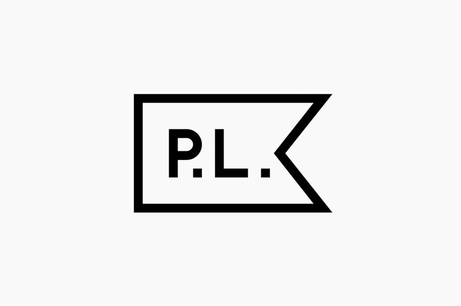 Logo for three dimensional designer Paul Loebach created by Studio Lin