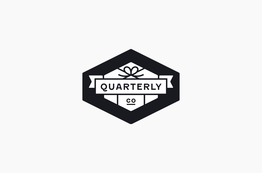 Logo designed by Oak for Quarterly Co.