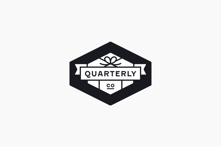 Logo designed by Oak for Quarterly Co.